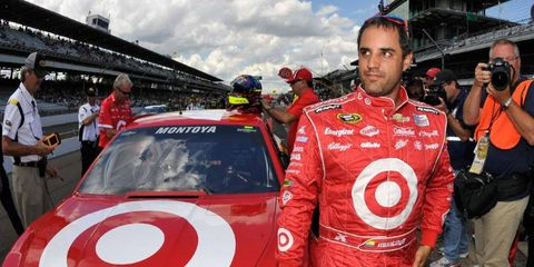 Juan Pablo Montoya is going back to open-wheel racing next season with IndyCar and Team Penske.