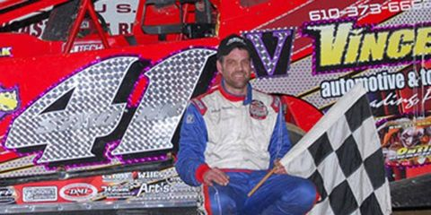 Jeff Strunk won the Freedom 400 for the second year in a row this weekend.