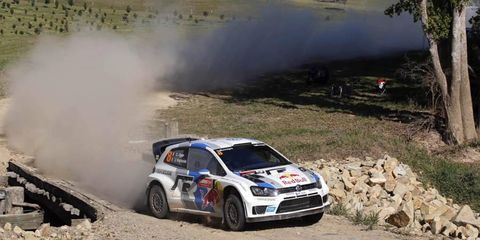 Sebastien Ogier has widened his lead in Rally Australia and if positions remain the same, he will win.