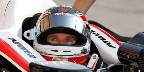 Will Power is ready for the final two weekends of the Izod IndyCar Series.