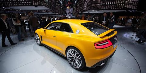 We won't ruin the surprise, but the Audi Sport Quattro concept is somewhere on this list.