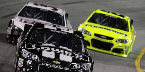 Johnson enters the Chase with 2,012 points, just three points behind leader Matt Kenseth.
