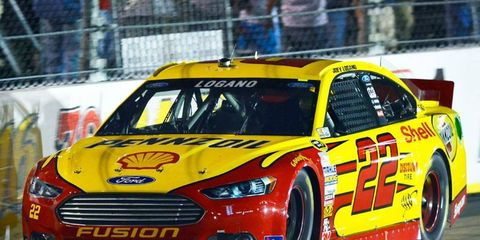 Joey Logano's place in the NASCAR Sprint Cup Series Chase could be in limbo.
