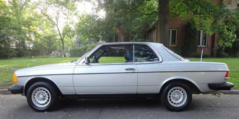 It's been forever since we've seen a W123 coupe this nice.
