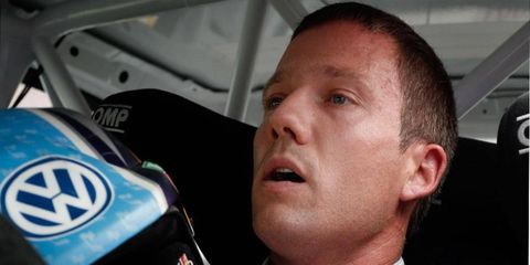 Sébastien Ogier is on past to snap Sebastien Loeb's nine-year run of World Rally Championship titles.