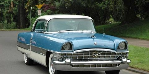 We love the look of this 1956 Packard 400.