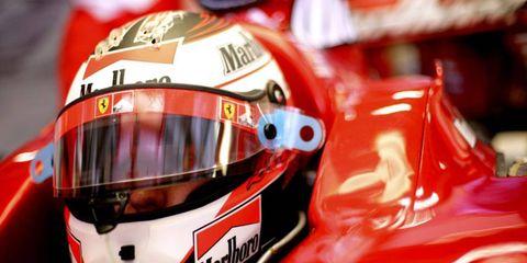 Raikkonen will be rejoining a Ferrari team that helped him win the 2007 Formula One World Championship