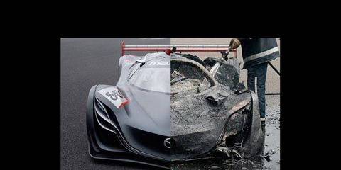 Mazda Furai, then and now.
