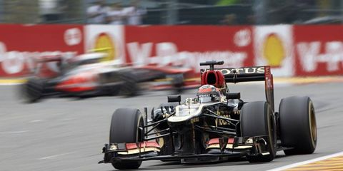 Driving for Lotus, Raikkonen has won one race in the 2013 Formula One season.
