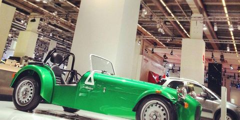 The Caterham Seven 165 will get a 660cc Suzuki 3-cylinder.