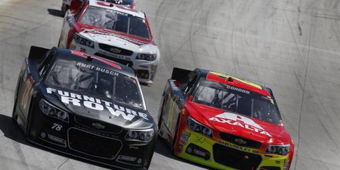 Kurt Busch changed up his pit crew on Sunday for the Dover race.