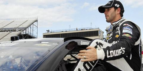 Will Jimmie Johnson win his sixth Sprint Cup this season? Who knows. He'll have to win the Chase to do it.