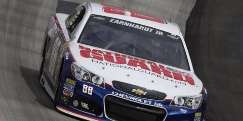 Dale Earnhardt Jr. was No. 1 in qualifying for Sunday's Sprint Cup in Dover.