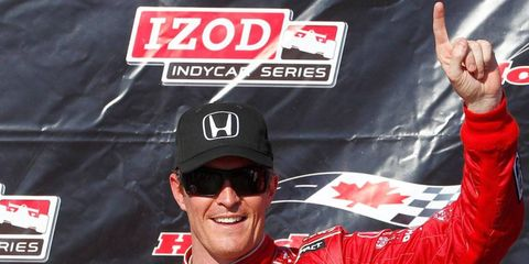 Izod has been associated with the IndyCar Series since it came into the series as the official clothing provider in 2008.