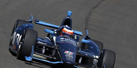 Barrichello spent the 2012 season driving in the IndyCar series.