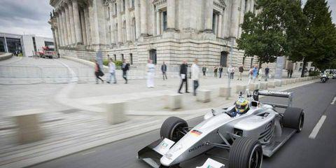 Formula E will ride into Berlin on May 30th, 2015.