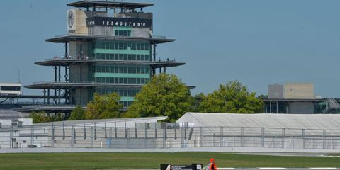 Road course testing has already taken place for the IndyCar race at Indianapolis Motor Speedway.