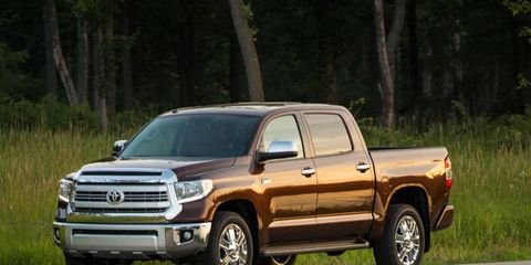 The Toyota Tundra is just one of the pickup trucks, CUVs and SUVs that have been refreshed for 2014.