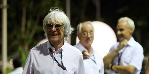 If Bernie Ecclestone ever steps down -- or is removed -- as head of Formula One, a management group could take his place.