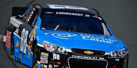 Dale Earnhardt Jr. finishedhas eight races to make up the 62 points he trails Matt Kenseth in the NASCAR Sprint Cup Series Chase.