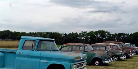 Auctioneer Yvette VanDerBrink shows us around some of the cars in the upcoming sale.