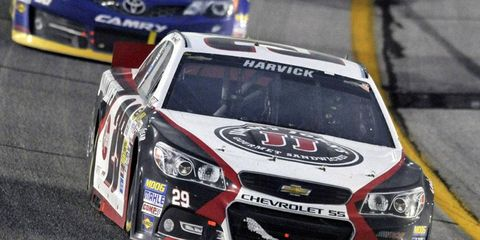 Jimmy John's will continue to sponsor Kevin Harvick as he makes the move from Richard Childress Racing to Stewart-Haas Racing.