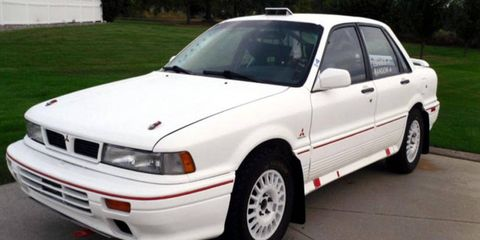 This 1991 Mitsubishi Galant VR4 is for sale through Bring a Trailer.