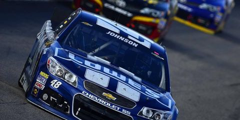 Jimmie Johnson is starting to feel the heat as the Chase is getting ready to take its show to Dover.