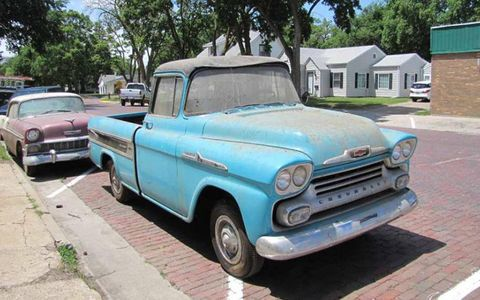 This 1958 Chevrolet Cameo truck is undoubtedly the star of the sale, as far as trucks are concerned.
