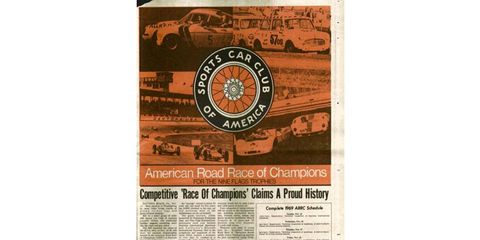 Coverage of the Runoffs in Competition Press and Autoweek in the Nov. 29, 1969, issue.