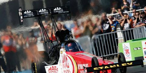 Doug Kalitta won for the first time since 2010 and put himself in the thick of the NHRA Top Fuel championship picture.