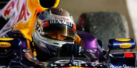 Sebastian Vettel dominated the field in Singapore, winning Sunday's Grand Prix by more than 32 seconds.