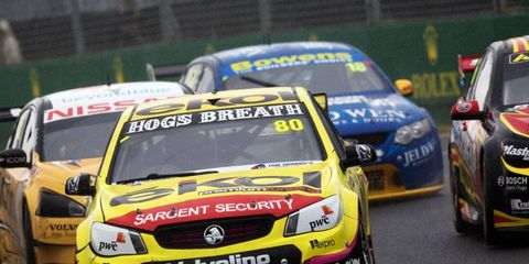 The Australian V8 Supercars will not be returning to the United States in 2014.