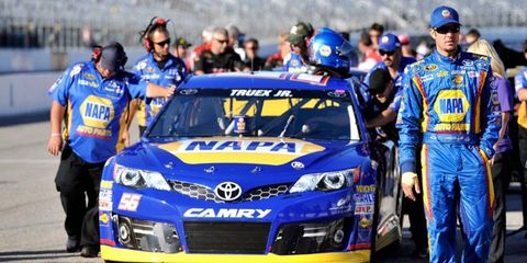 Martin Truex Jr., right, is in the middle of NASCAR's finish-fixing controversy and lost his spot in the Chase for the Championship as a result.