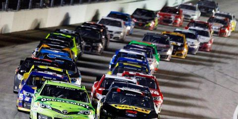 NASCAR vows that its drivers will give 100 percent effort on the track.