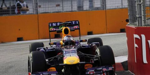 Vettel will look for his seventh win of the Formula One season at this weekend's Singapore Grand Prix