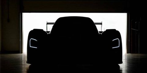 Ford Racing posted this image to Facebook on Monday teasing a Tuesday announcement.
