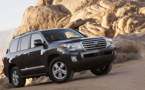 The Toyota Land Cruiser starts out at a price point of $79,400.