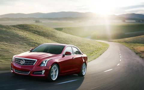 The 2013 Cadillac ATS 2.0T starts out at a base price of $45,790.
