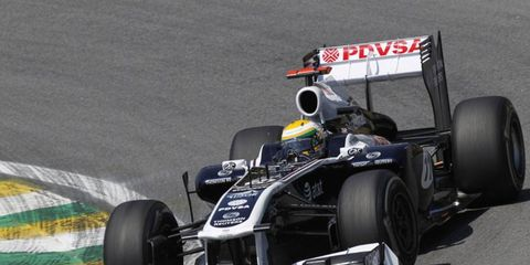Barrichello has an extensive Formula One history, including this 2011 Brazilian Grand Prix.