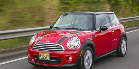 The next Mini Cooper Hardtop could get the new three-cylinder engine.