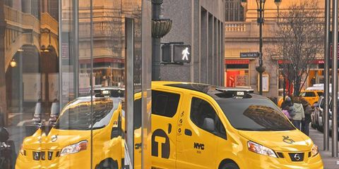 The rules regarding taxi replacement would have kicked in on Oct. 28, requiring cab companies to replace old nonhybrid cabs with the NV200.