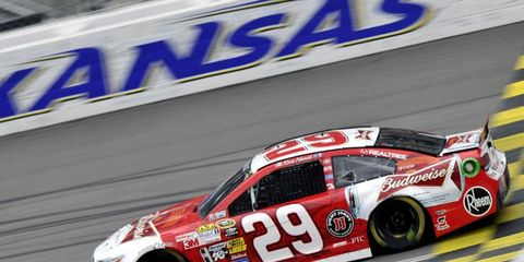 Harvick moves to third place in the Chase standings because of his victory.