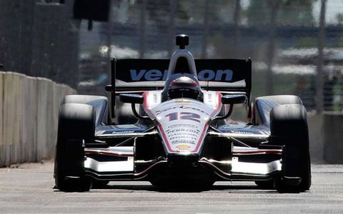 Will Power capped the weekend doubleheader in Houston with an IndyCar win on Sunday.