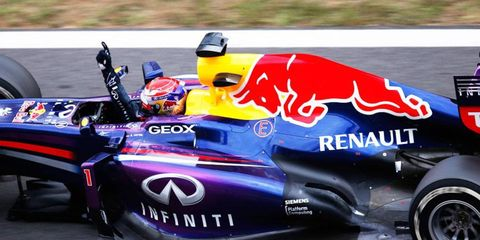 Sebastian Vettel made if four straight Formula One wins with another convincing performance in Korea on Sunday.