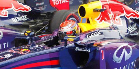 Sebastian Vettel will start for Formula One race on the pole on Sunday in Korea.