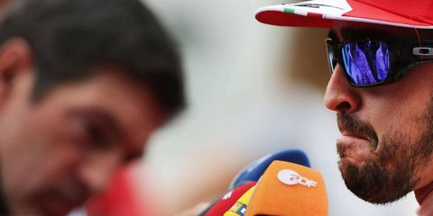 Fernando Alonso says that Pirelli's tires are wearing out after less than one lap in Korea.