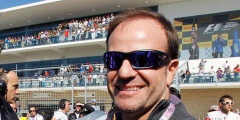 Ninteteen-year Formula One veteran Rubens Barrichello will not be driving for Sauber in 2014.