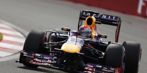 Sebastian Vettel topped Lewis Hamilton by 0.2 secs. for the pole in South Korea.