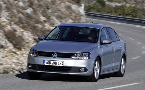 The 2014 Volkswagen Jetta TDI starts out at a base price of $23,195.